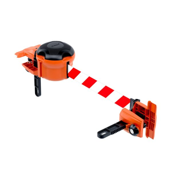 clamp for belt barrier