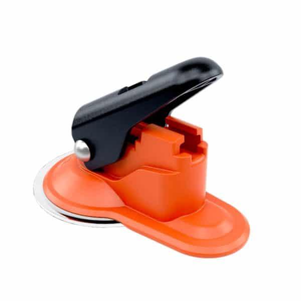 orange suction pad