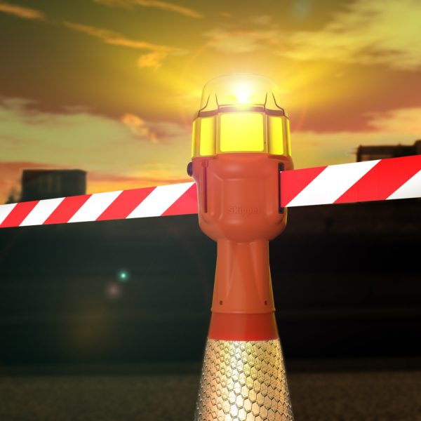 safety light cone topper