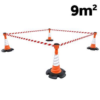 Skipper cone topper barrier kit